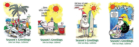 San Diego Christmas Cards